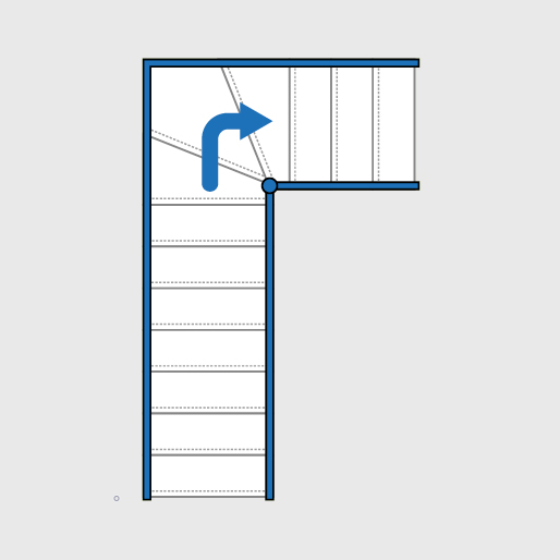 Single Winder Staircase