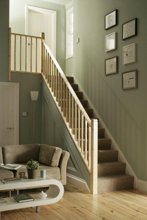 Custom staircase wood